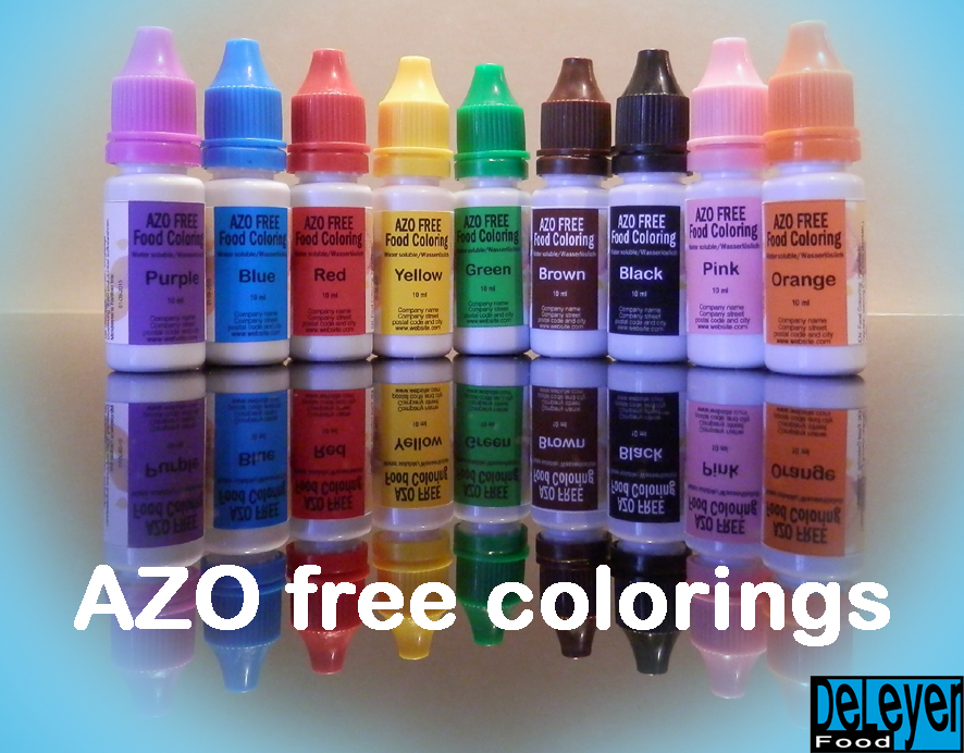 Azo free food colors